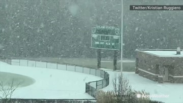 Lake-effect snow comes out in full force