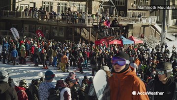 California ski resort opens for the season