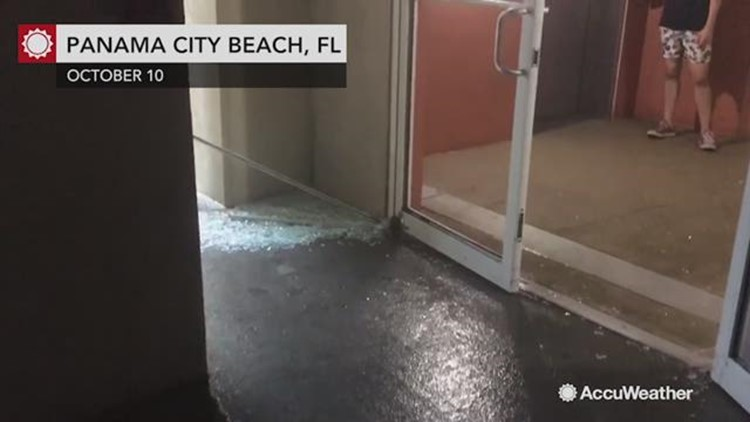 Michaels Winds Blows Out Condo Doors And Shatters Glass 11alive