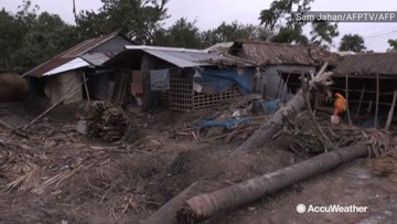 Cyclone Bulbul devastates village