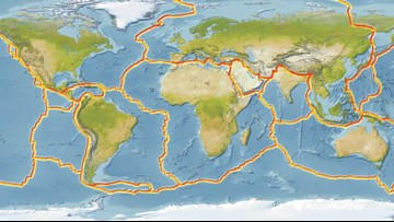 History of Earth's single supercontinent, 'Pangaea'