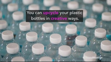 3 creative ways to upcycle plastic bottles