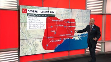 Extreme weather possible this weekend