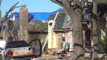 Cleanup continues four months after Texas tornadoes