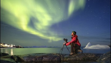 Photographer Captures Stunning Photos of Greenland's Aurora