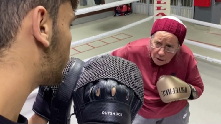 This Amazing Grandma Is Taking on Parkinson's Disease Through Boxing!