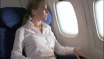 The Reason Why Most Airplane Seats Are Blue