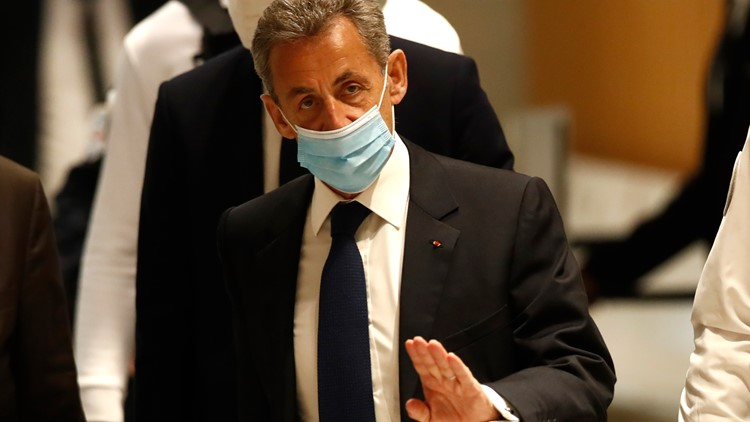 France's former president Sarkozy convicted of corruption, sentenced to jail