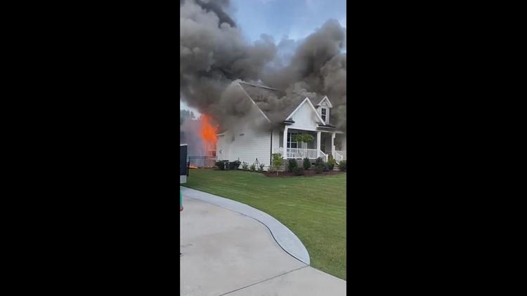 Kellie Stanley house fire