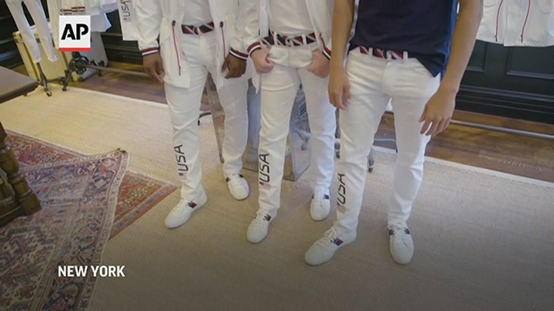 Ralph Lauren unveils new Team USA uniforms