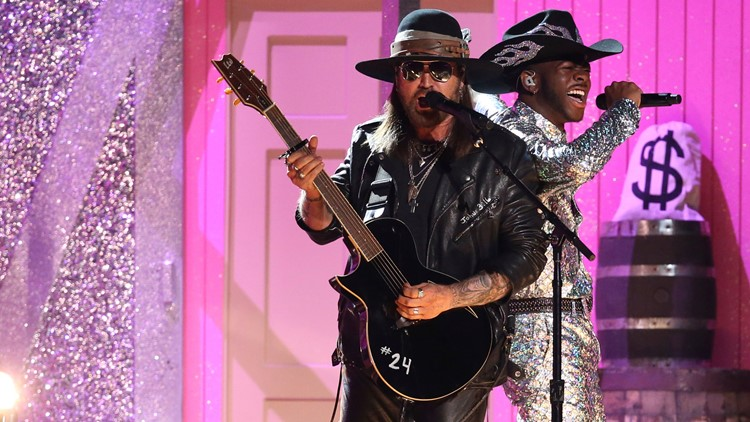 Billy Ray Cyrus Kobe Guitar 62nd Annual Grammy Awards - Show