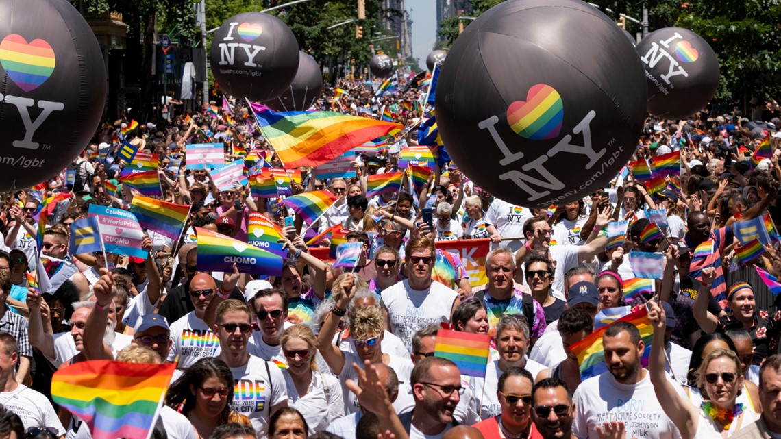 Nyc Pride Parade Is One Of Largest In Movements History 11alive Com