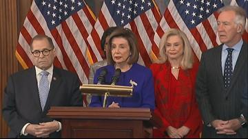 Democrats unveil articles of  impeachment