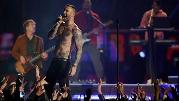 Review: Thank U, Next: Maroon 5's halftime show was basic