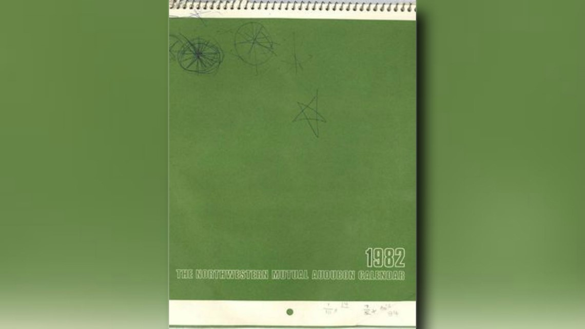 S Brett Kavanaugh's 1982 calendar when sexual assault allegedly happened
