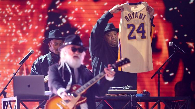 Kobe Bryant tribute jersey 62nd Annual Grammy Awards - Show