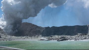 11 Australians missing, 13 injured in New Zealand eruption