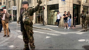 2 suspects arrested after Lyon bomb attack that wounded 13