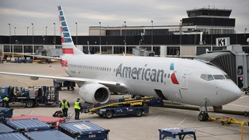 American Airlines cancels 1,100 Sunday flights due to winter storm