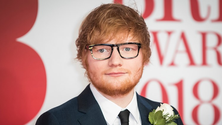 Ed Sheeran at Britain Brit Awards 2018 Arrivals