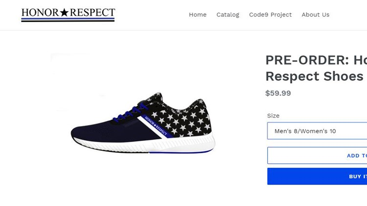 Police officer designs shoe to help first responders coping
