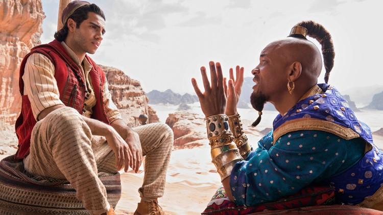 Aladdin and Genie Film Box Office