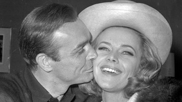 Honor Blackman, iconic 'Goldfinger' Bond girl, dies at 94