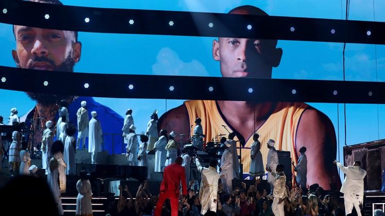 Nipsey Hussle Kobe Bryant 62nd Annual Grammy Awards - Show