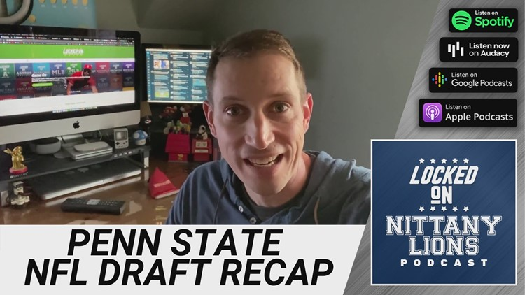 Reaction: Three Penn State Nittany Lions picked late in the seventh round of the NFL Draft