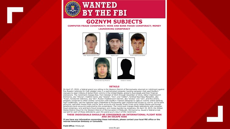 Malware Attacks Wanted by the FBI full poster