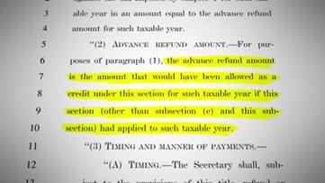VERIFY: The stimulus checks won't impact your tax refund next year