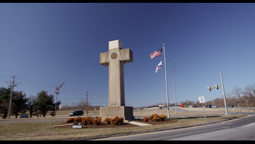 Can a cross be non- religious?