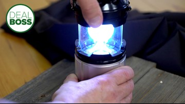 This emergency light capsule can help you prepare you for any storm or outage