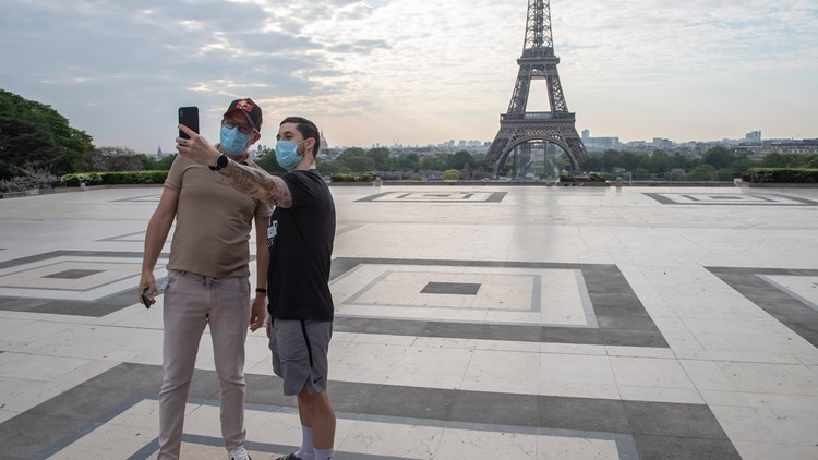 European Union may let vaccinated US tourists visit this summer