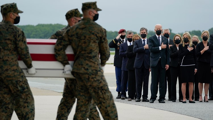 US troops killed in Afghan bombing awarded Purple Hearts