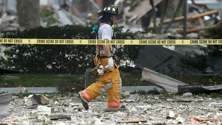 Florida Shopping Center Plaza Explosion July 6