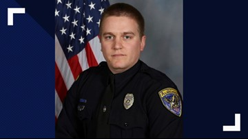 Alabama officer hurt in shooting that killed 1 improving