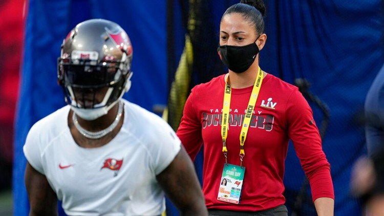 Bucs' Maral Javadifar, Lori Locust are 1st female coaches to win Super Bowl