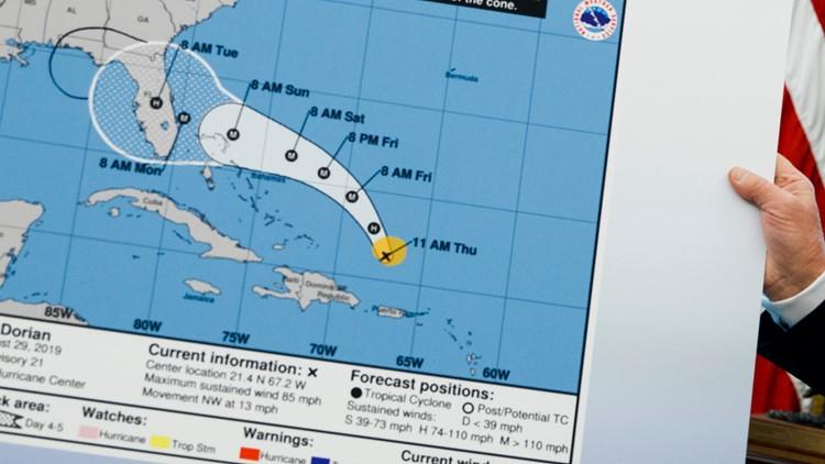 NOAA reverses course on Trump's Alabama hurricane claim