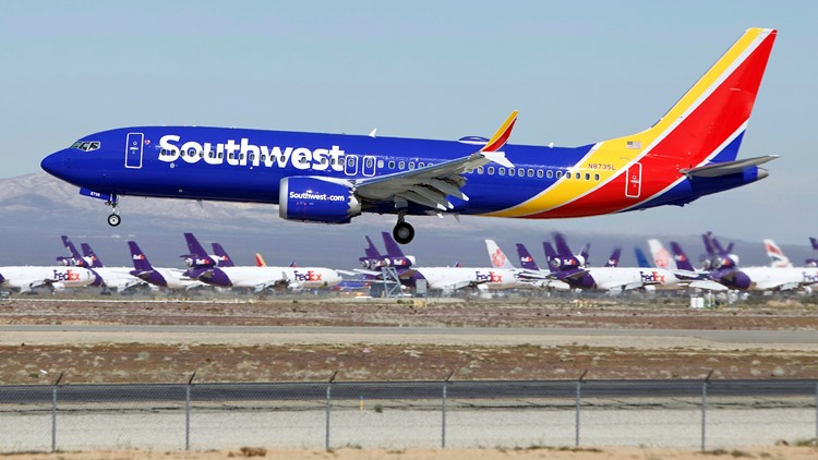 Southwest cancellations will rise due to grounded Boeing jet