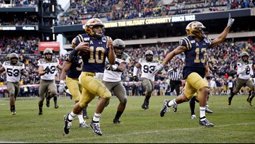 No. 23 Navy beats Army in 120th edition of annual rivalry