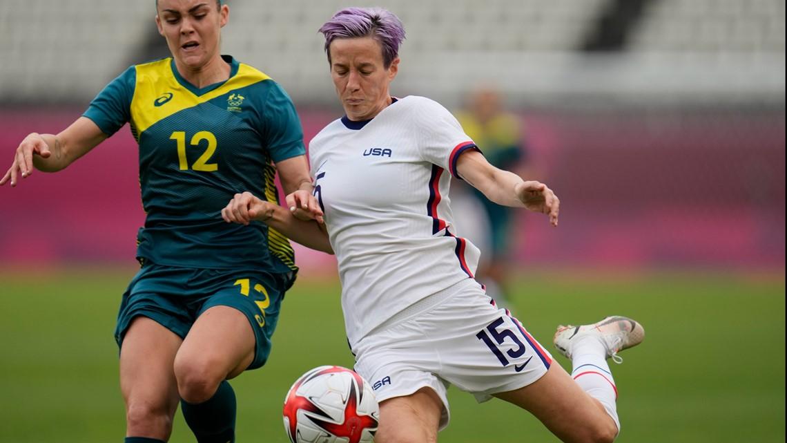 US, Australia battle for spot in women's soccer semifinals | Results
