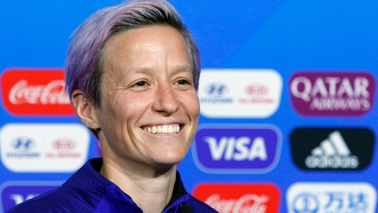 Megan Rapinoe is Sports Illustrated 2019 Sportsperson of the Year