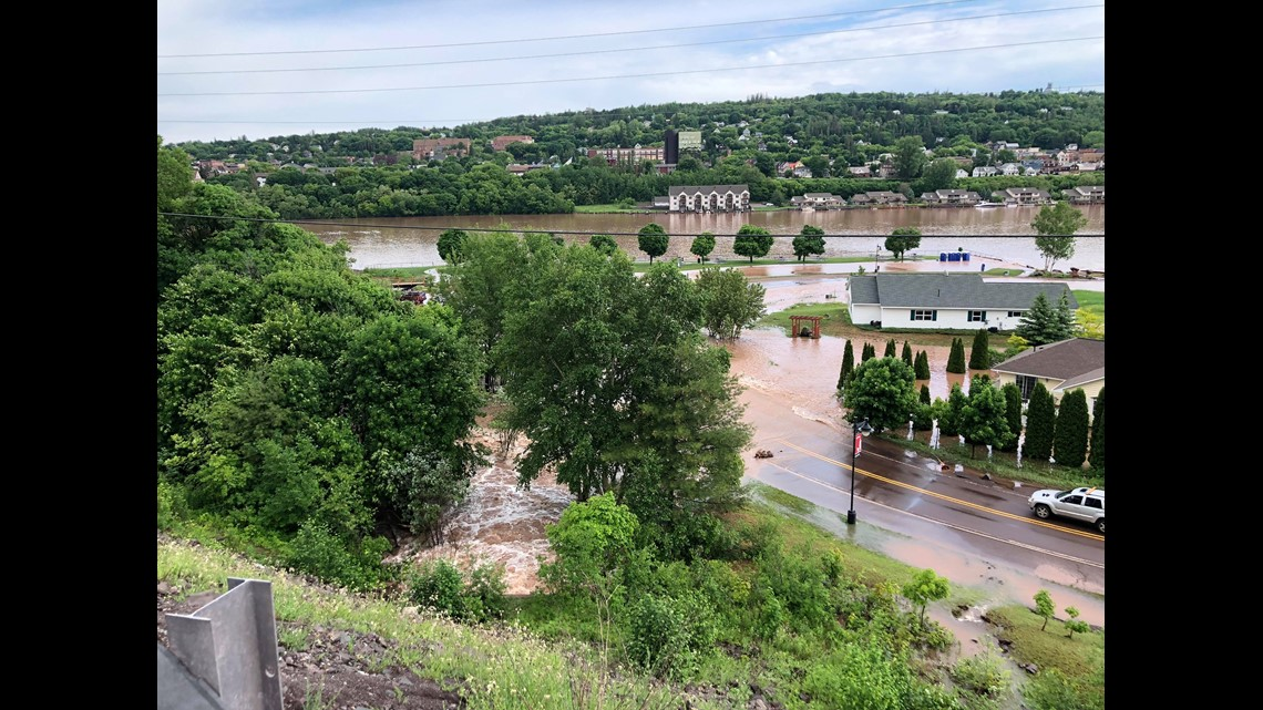 Flooding in Houghton, Michigan | 11alive com
