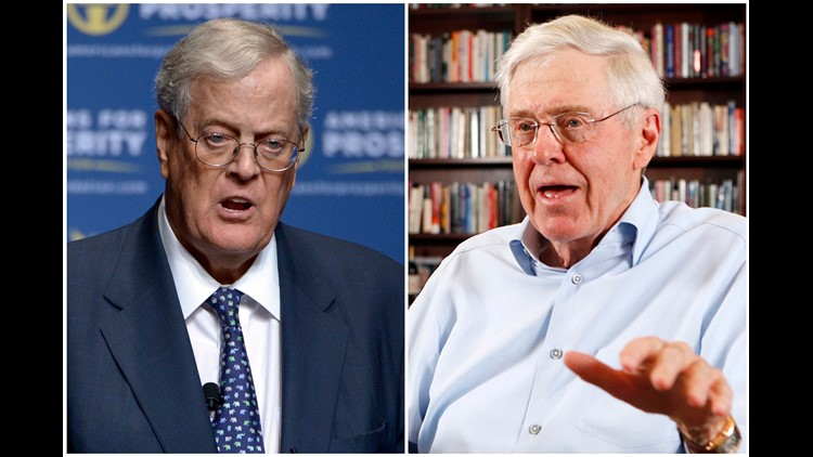 Koch brothers total joke in Republican circles, says Trump
