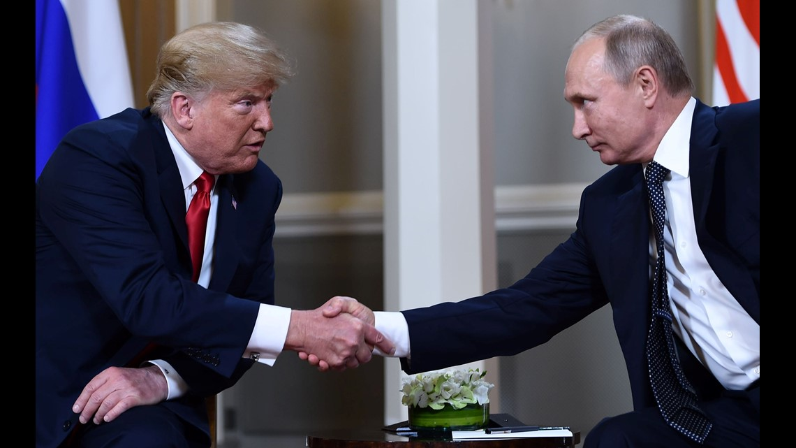 Trump says he would hold Putin responsible for alleged interference