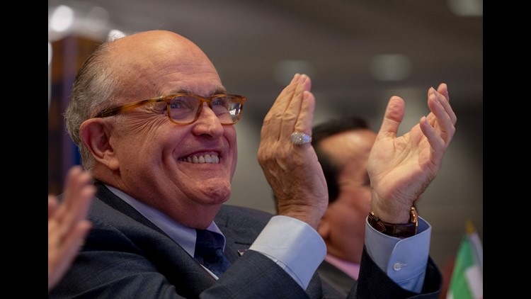 Giuliani Resigns From Greenberg Traurig Amid Trump Work