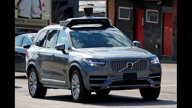 XXX UBER SELF DRIVING VOLVO A USA PA