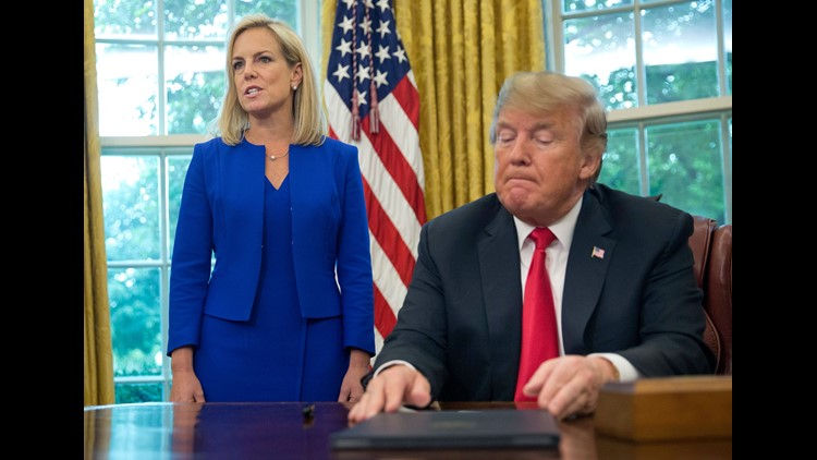 Trump is facing perhaps the biggest backlash to his immigration policies since the early days of his administration, but with no clear exit.