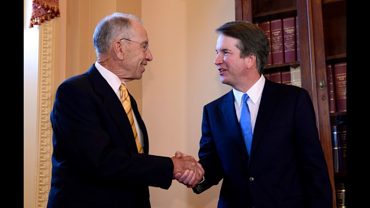 Senate GOP tries to push Kavanaugh over the finish line